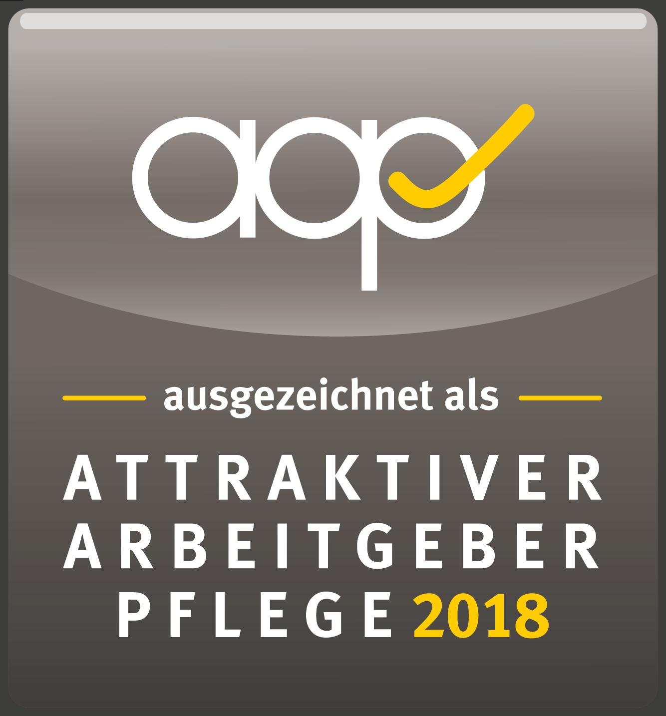 Timm Pflege ausgezeichnet als Attraktiver Arbeitgeber Pflege 2018